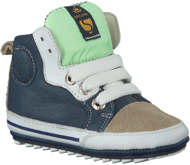 blauwe SHOESME Babyschoenen BP7S011  - large