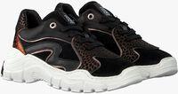 Zwarte RED-RAG Lage sneakers 13058  - medium