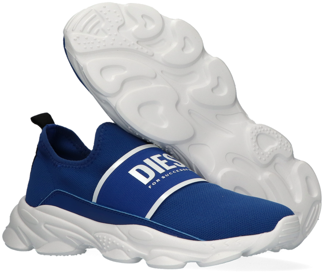 Blauwe DIESEL Lage sneakers SERENDIPITY SO LOW  - large
