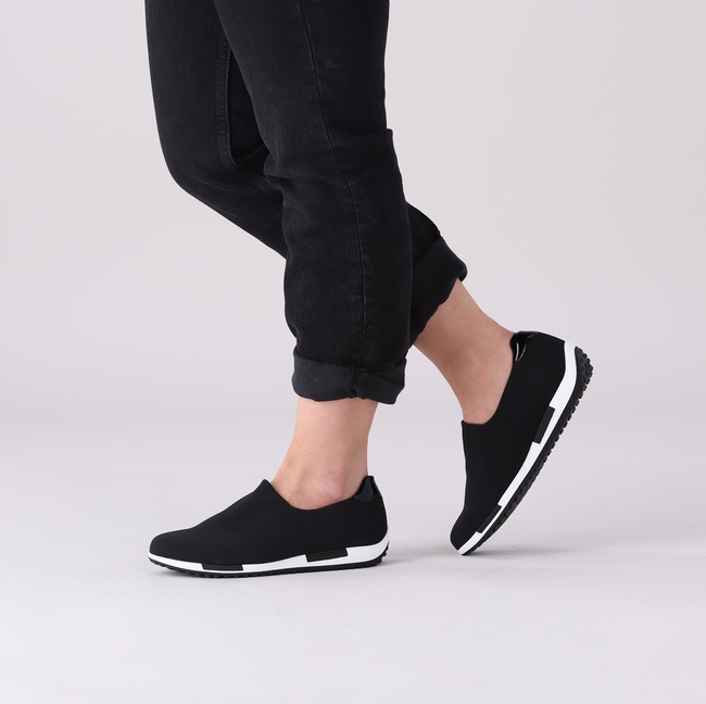 Zwarte GABOR Lage sneakers 052.1  - large