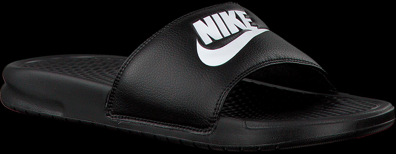 Nike Nike Zwarte Pantoufles Benassi Jdi Hommes yvUU1cxy2a