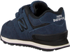 Blauwe NEW BALANCE Sneakers YV574/IV574 - small