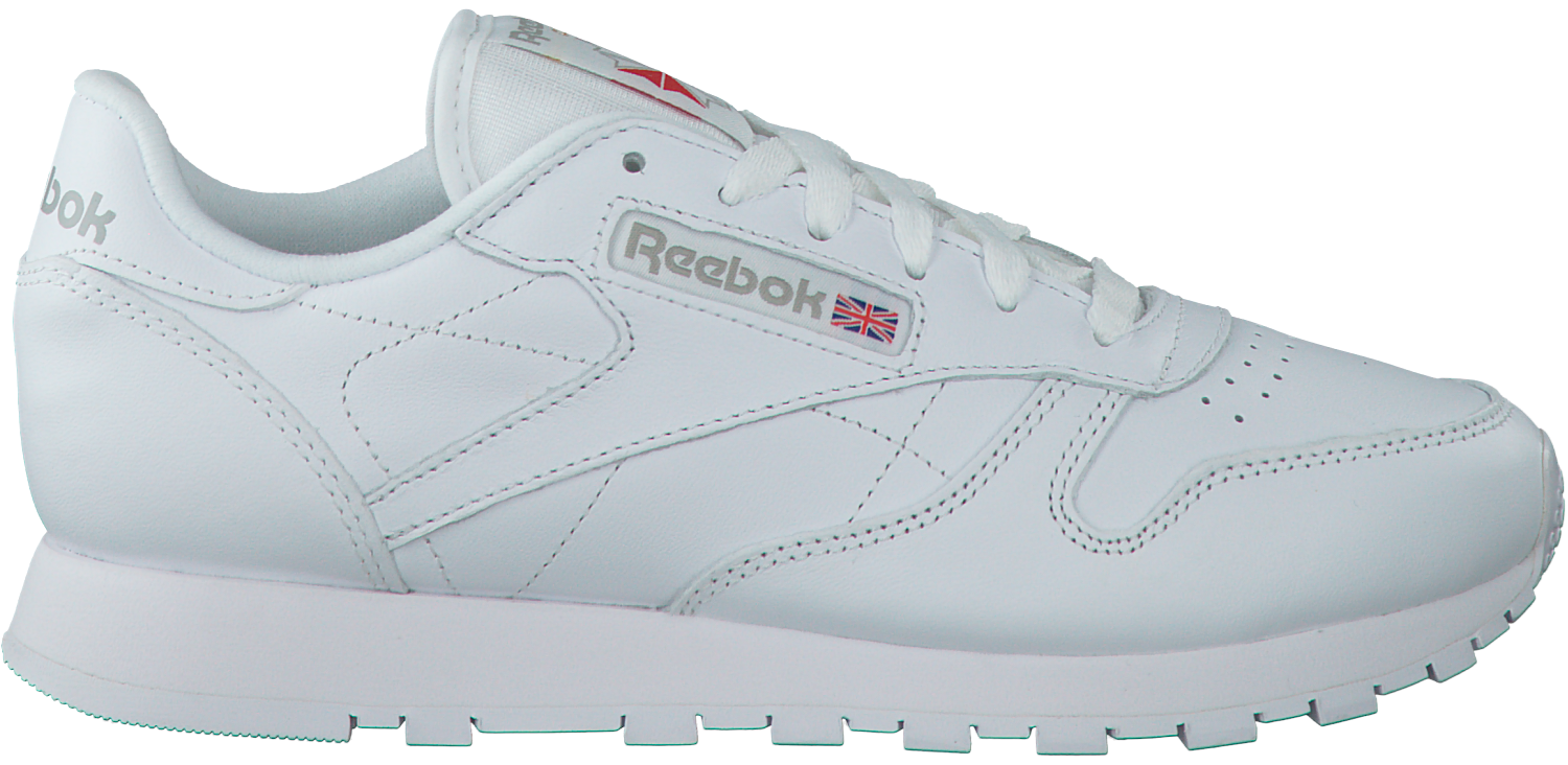 44f019953c7 Witte REEBOK Sneakers CL LEATHER WMN - large. Next