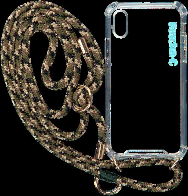 Groene KASCHA-C Telefoonkoord PHONECORD IPHONE X/XS  - large