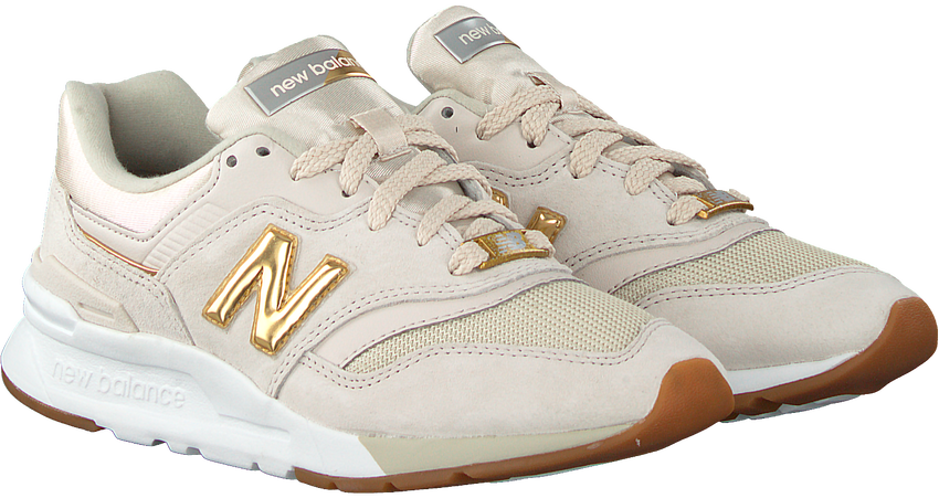Beige NEW BALANCE Lage sneakers CW997  - larger