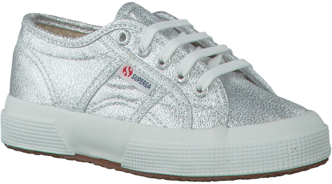 Zilveren SUPERGA Sneakers LAMEJ KIDS  - large