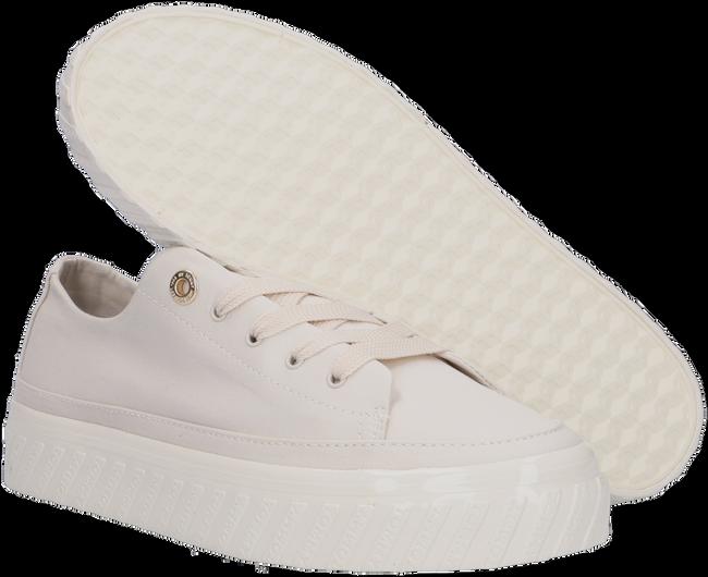 Beige TOMMY HILFIGER Lage sneakers SHINY FLATFORM VULC - large