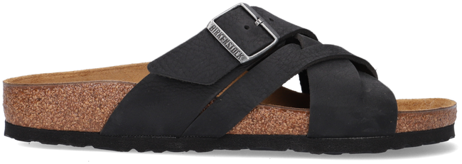 Zwarte BIRKENSTOCK Slippers LUGANO LEOI CAMBERRA BLACK  - large