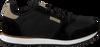 Zwarte WODEN Sneakers YDUN SUEDE MESH  - small