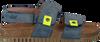 Blauwe CLIC! Sandalen TROY - small