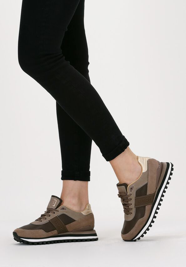 Taupe BJORN BORG Lage sneakers R2000  - larger
