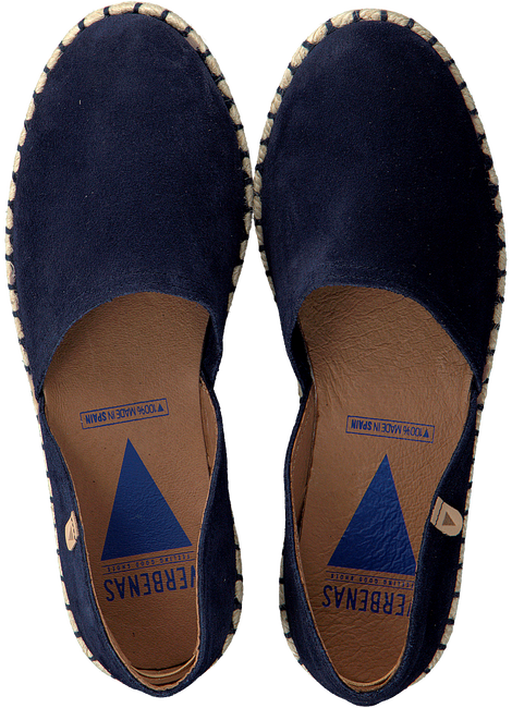Blauwe VERBENAS Espadrilles CARMEN - large