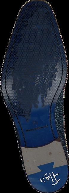 Blauwe FLORIS VAN BOMMEL Nette schoenen 14194  - large