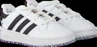 Witte ADIDAS Lage sneakers TEAM COURT EL I  - medium