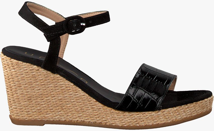 Zwarte UNISA Sandalen LUPA  - larger