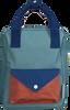 Blauwe STICKY LEMON Rugtas BACKPACK ENVELOPE SMALL - small