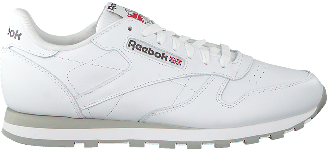 Witte REEBOK Sneakers CL LTHR MEN  - large