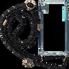 Zwarte KASCHA-C Telefoonkoord PHONECORD IPHONE XS MAX  - small