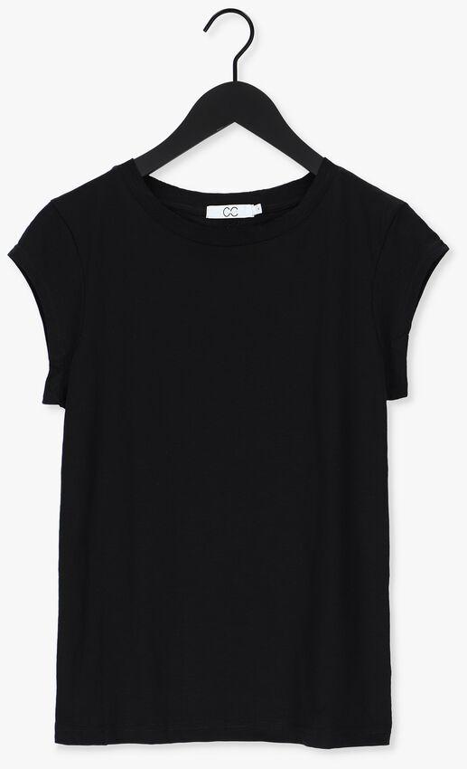 Zwarte CC HEART T-shirt BASIC T-SHIRT - larger