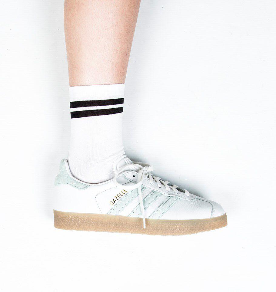 Witte ADIDAS Sneakers GAZELLE DAMES Omoda.nl