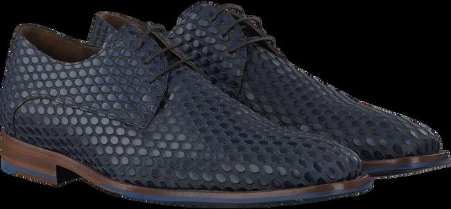 Blauwe FLORIS VAN BOMMEL Nette schoenen 18007  - large