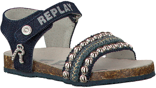blauwe REPLAY Sandalen PIE  - large
