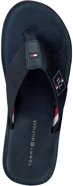 Blauwe TOMMY HILFIGER Slippers ELEVATED TH BEACH  - large