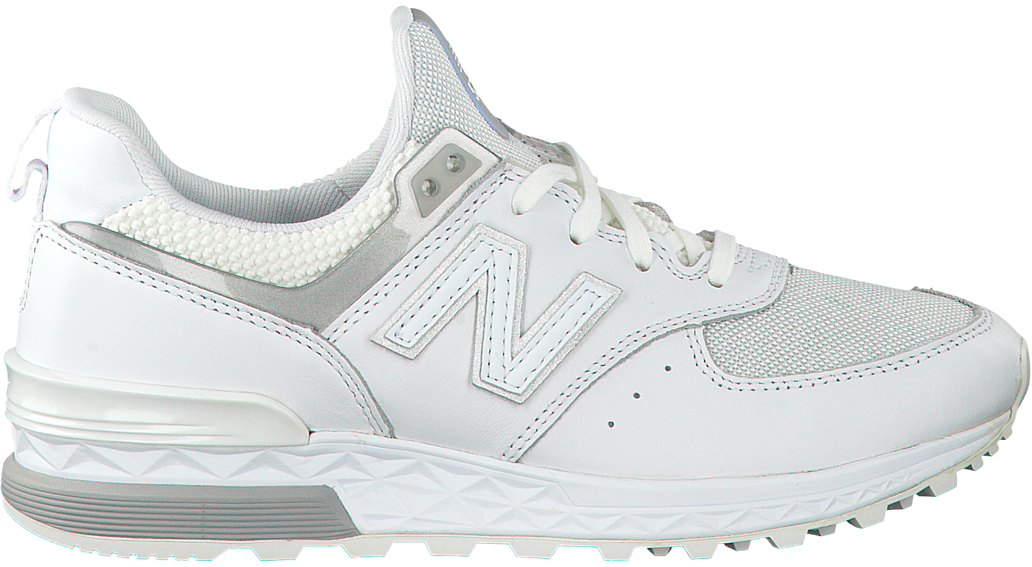 b3bd466b354 Witte NEW BALANCE Sneakers WS574 WMN - large. Next
