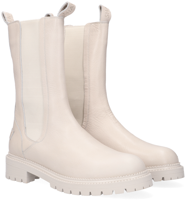 Witte SHABBIES Chelsea boots 182020340  - large
