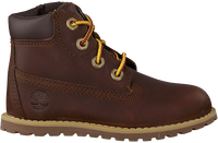 Bruine TIMBERLAND Veterboots POKEY PINE 6IN BOOT KIDS  - medium