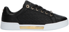 Zwarte TOMMY HILFIGER Lage sneakers TH MONOGRAM ELEVATED  - small