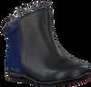 Blauwe LE CHIC Lange laarzen RUFFLE FLOWER  - small