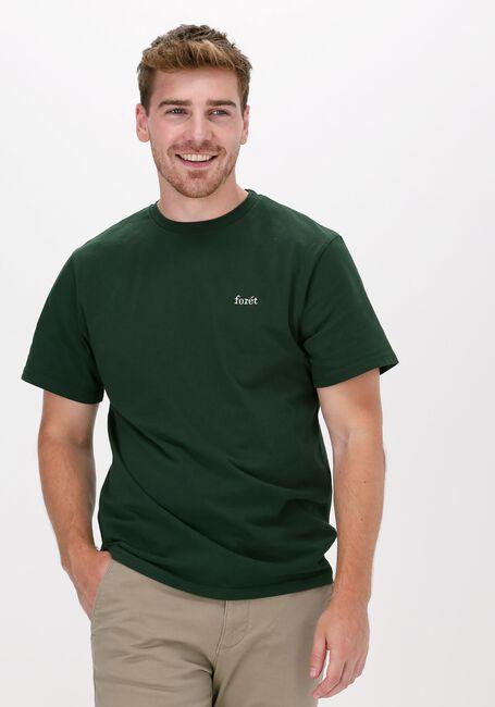 Donkergroene FORÉT T-shirt AIR T-SHIRT - large