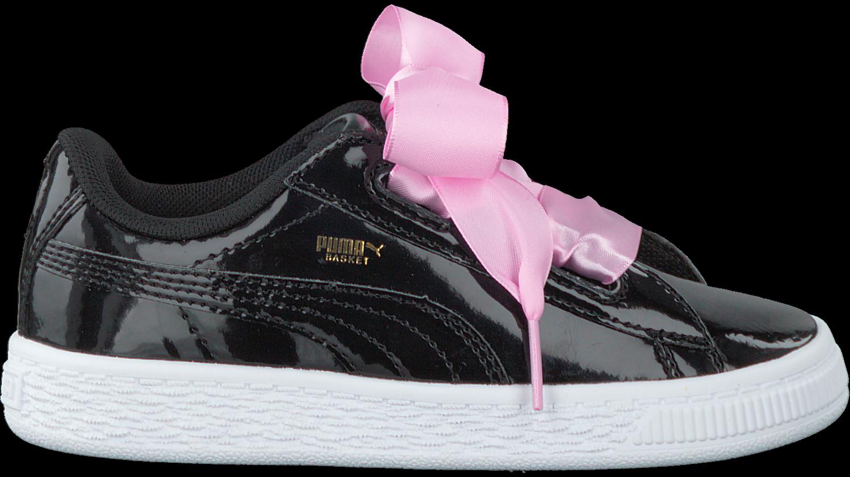 04bb1d7857d Zwarte PUMA Sneakers BASKET HEART PATENT KIDS - large. Next