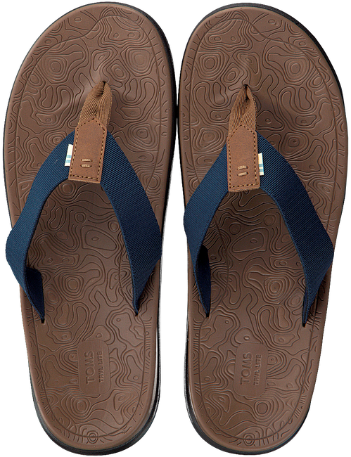 Blauwe TOMS Slippers TRAVAL LITE  - large