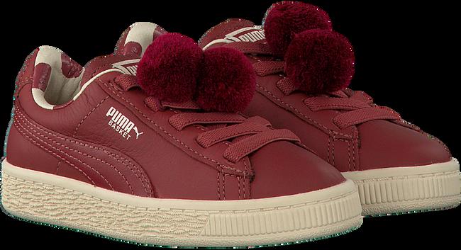 Rode PUMA Sneakers PUMA X TC BASKET POMPOM  - large