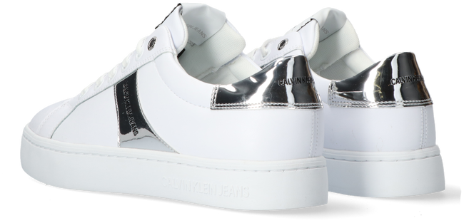 Witte CALVIN KLEIN Lage sneakers CUPSOLE LACEUP  - large