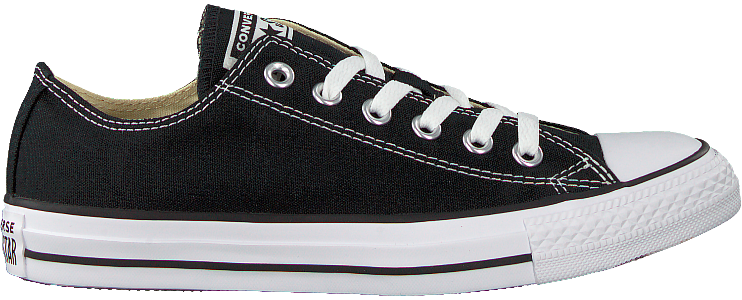 Zwarte CONVERSE Sneakers CHUCK TAYLOR ALL STAR OX DAMES | Omoda
