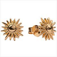 Gouden ATLITW STUDIO Oorbellen PARADE EARRINGS SUN  - medium
