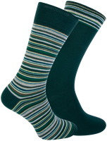 Groene MARCMARCS Sokken DION COTTON 2-PACK  - medium