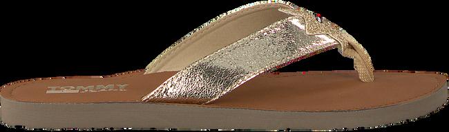 Gouden TOMMY HILFIGER Slippers GLITTER BEACH SANDAL - large
