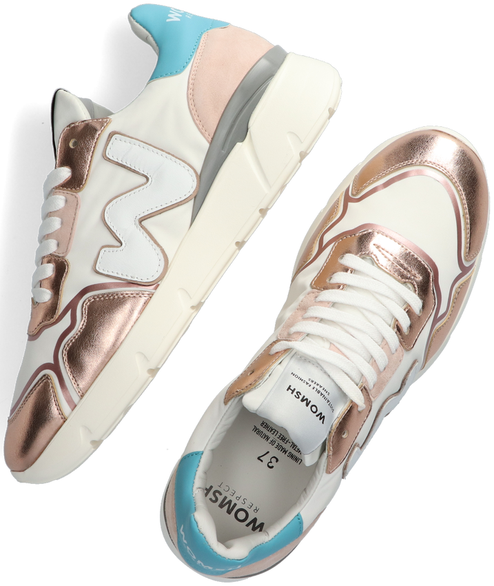 Witte WOMSH Lage sneakers RUNNY  - larger