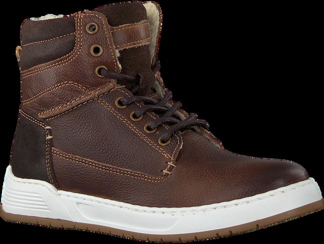 Bruine OMODA Hoge sneaker A0F503E6L_BRWNOM  - large