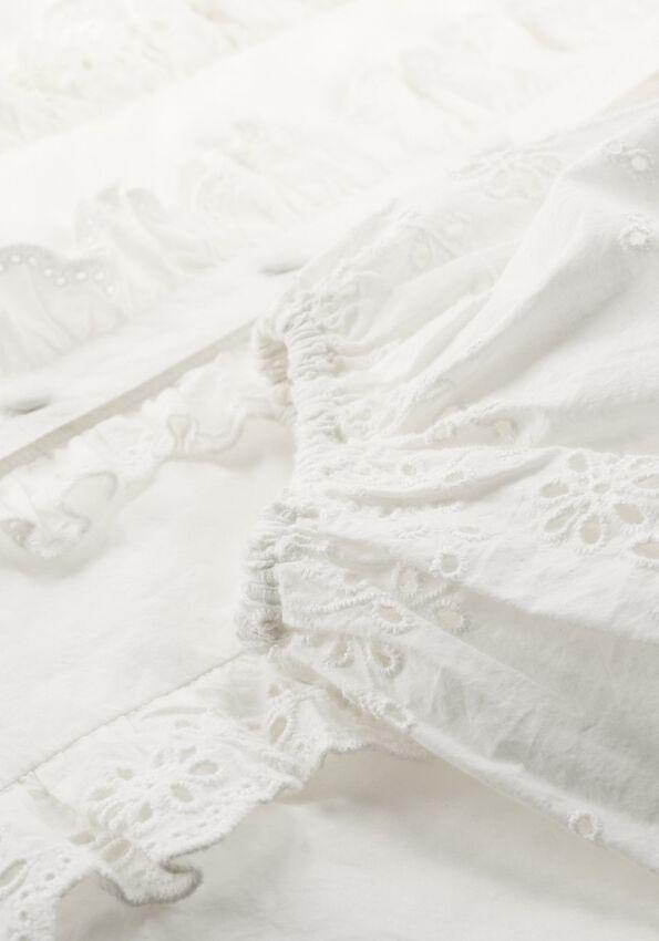 Witte NOTES DU NORD Blouse ALMA SHIRT  - larger