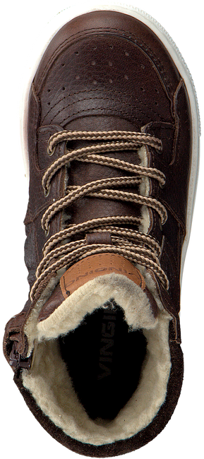 Bruine VINGINO Sneakers RENS HIGH - large