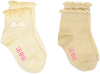 Gele LE BIG Sokken MIA SOCK  - medium