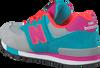 Grijze NEW BALANCE Sneakers KV574  - small