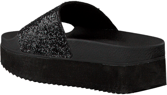 Zwarte THE WHITE BRAND Slippers HIGH BEACH  - large