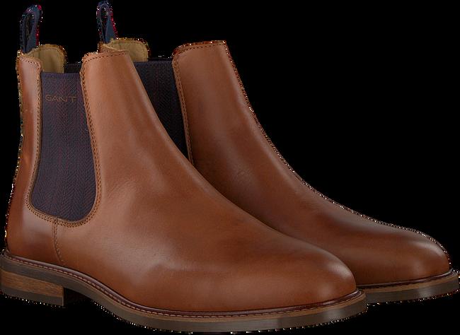 Cognac GANT Chelsea boots RICARDO CHELSEA - large