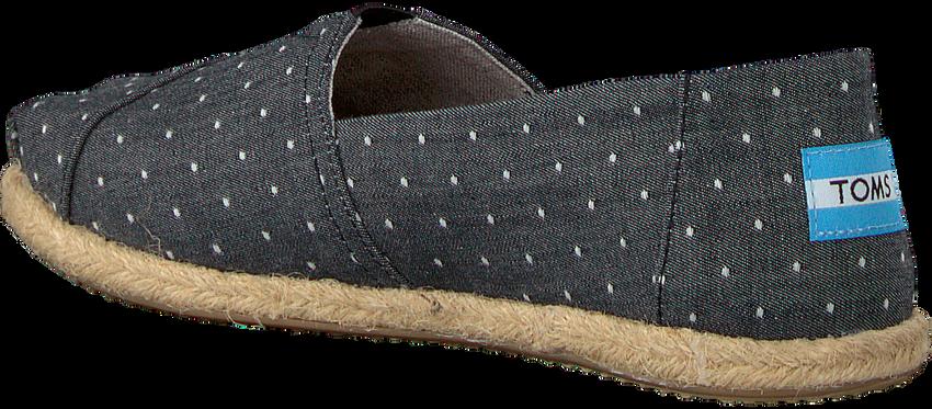 Zwarte TOMS Espadrilles ALPARGATA W  - larger